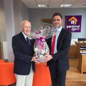 Mr Sheehan Banstead Gift Presentation